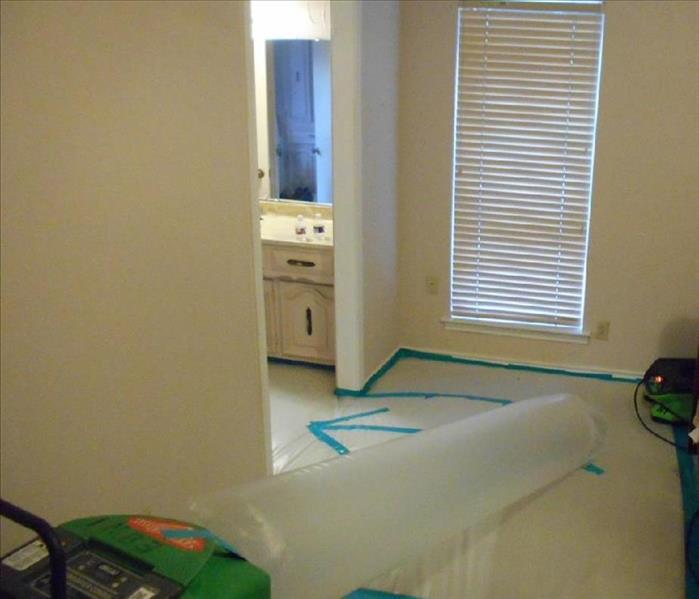 Tenting and Ducting to Save Flooring in Dallas, TX